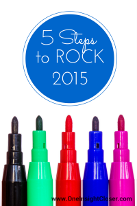 5 Steps to ROCK 2015