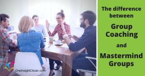 Group Coaching vs Mastermind Groups